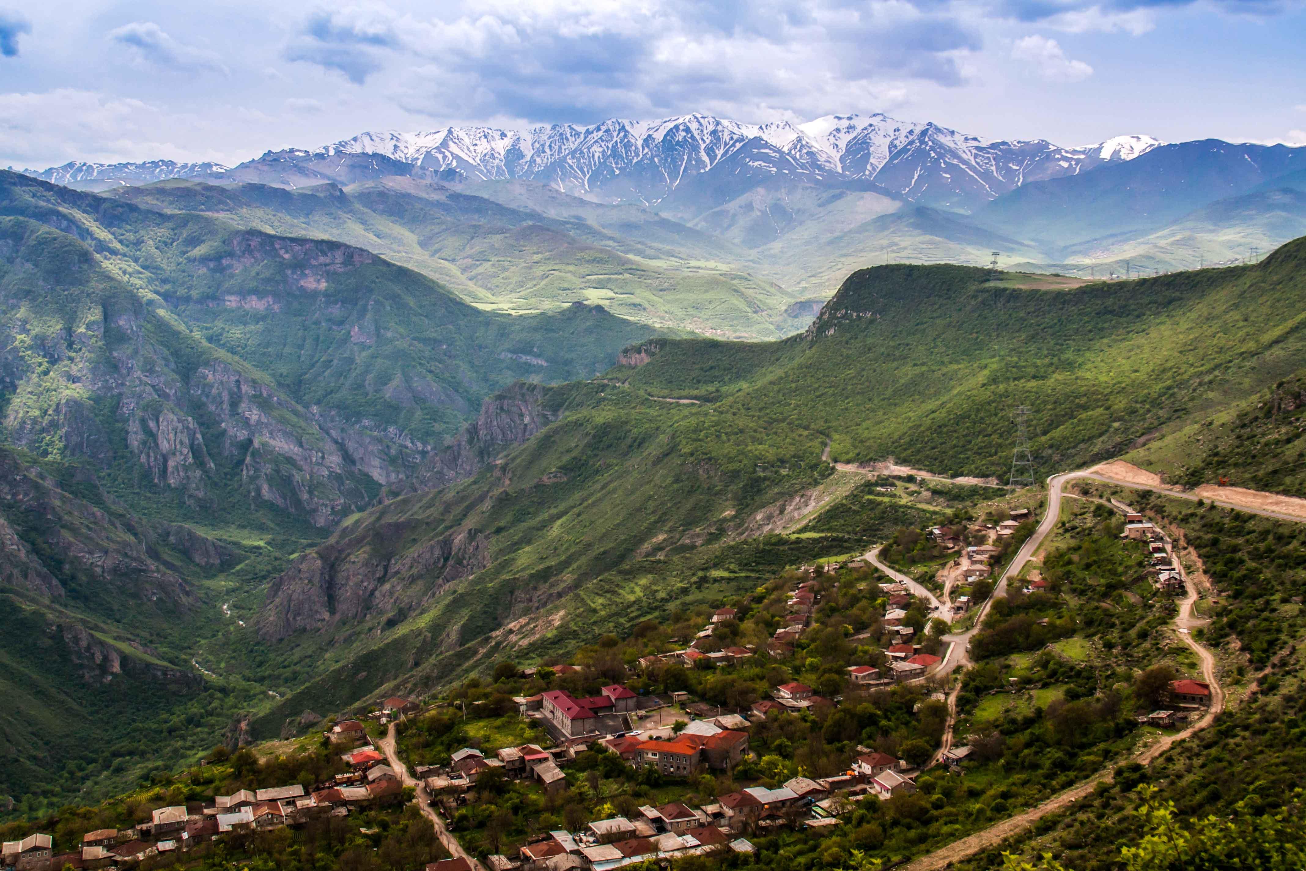 Армянские пейзажи, отзывы об Армении
