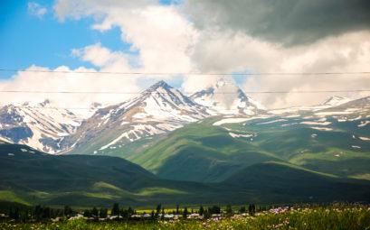 Гора Арагац, Армения, Арагацотн