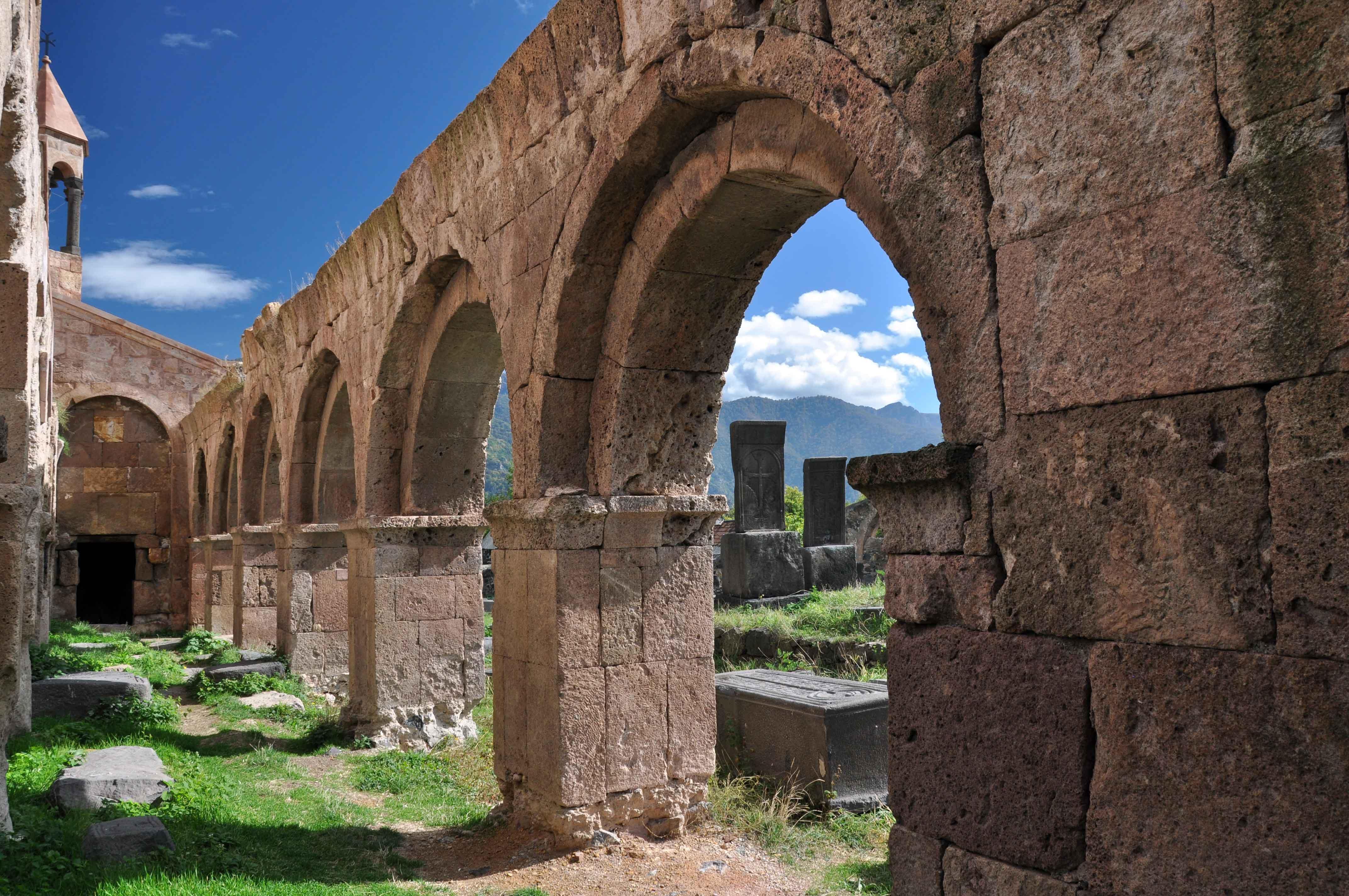 Одзунский монастырь | 6 век | Армения, Лорийская область