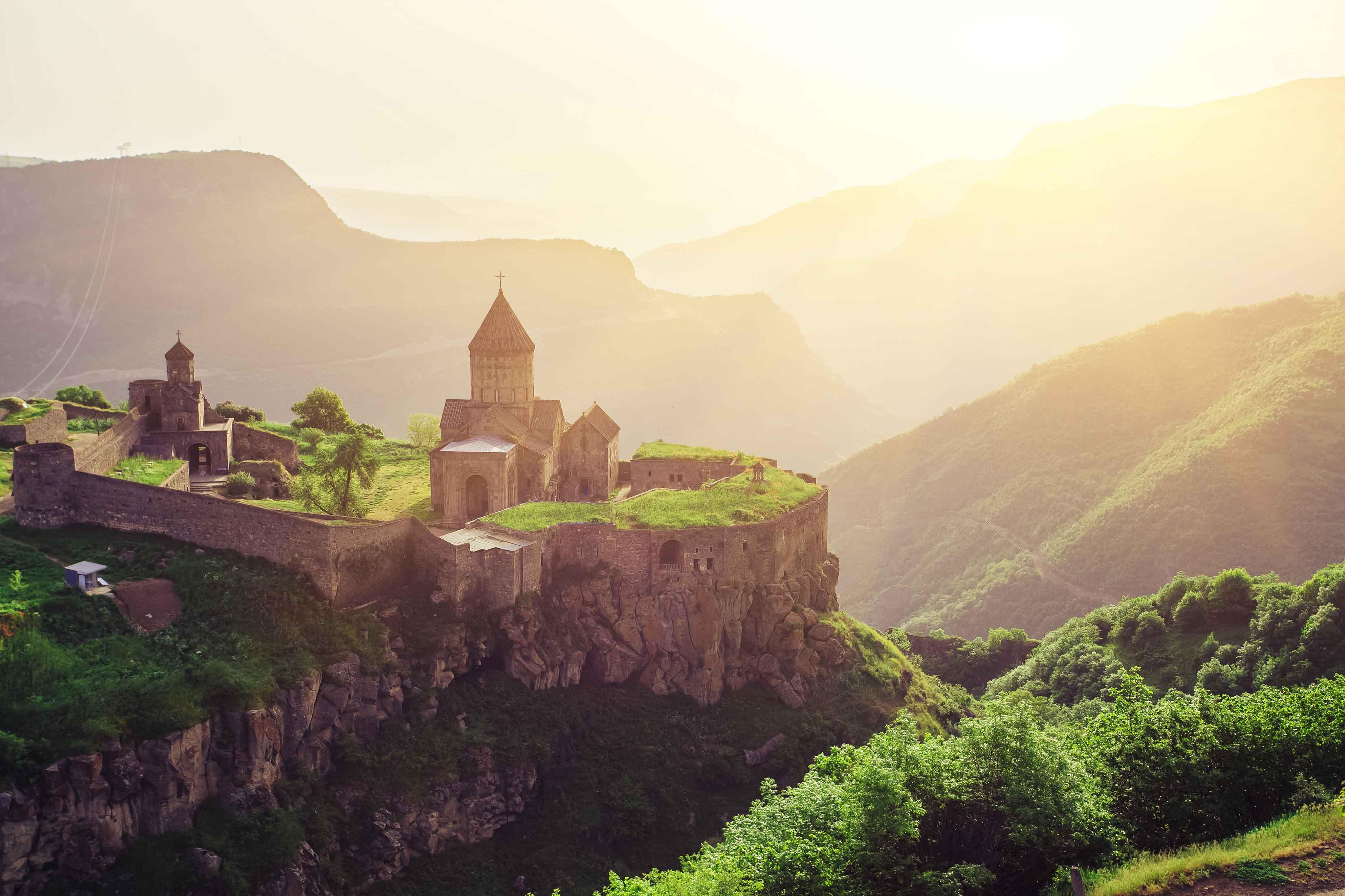 Татевский монастырьcкий комплекс, Сюникская область, Армения