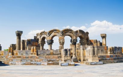 Достопримечательности Армении, Звартноц