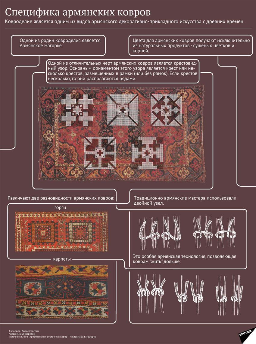 Символы армении: армянский ковер значения