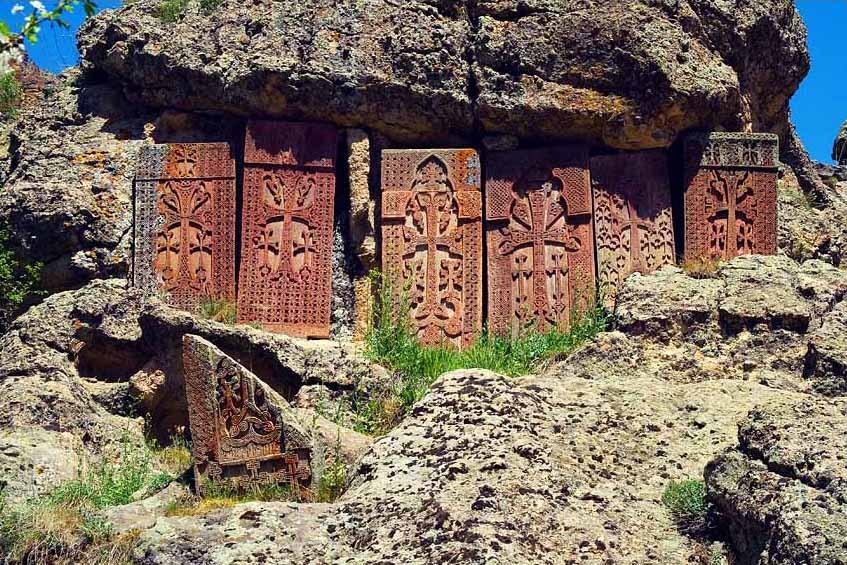 Символ Армении - хачкар