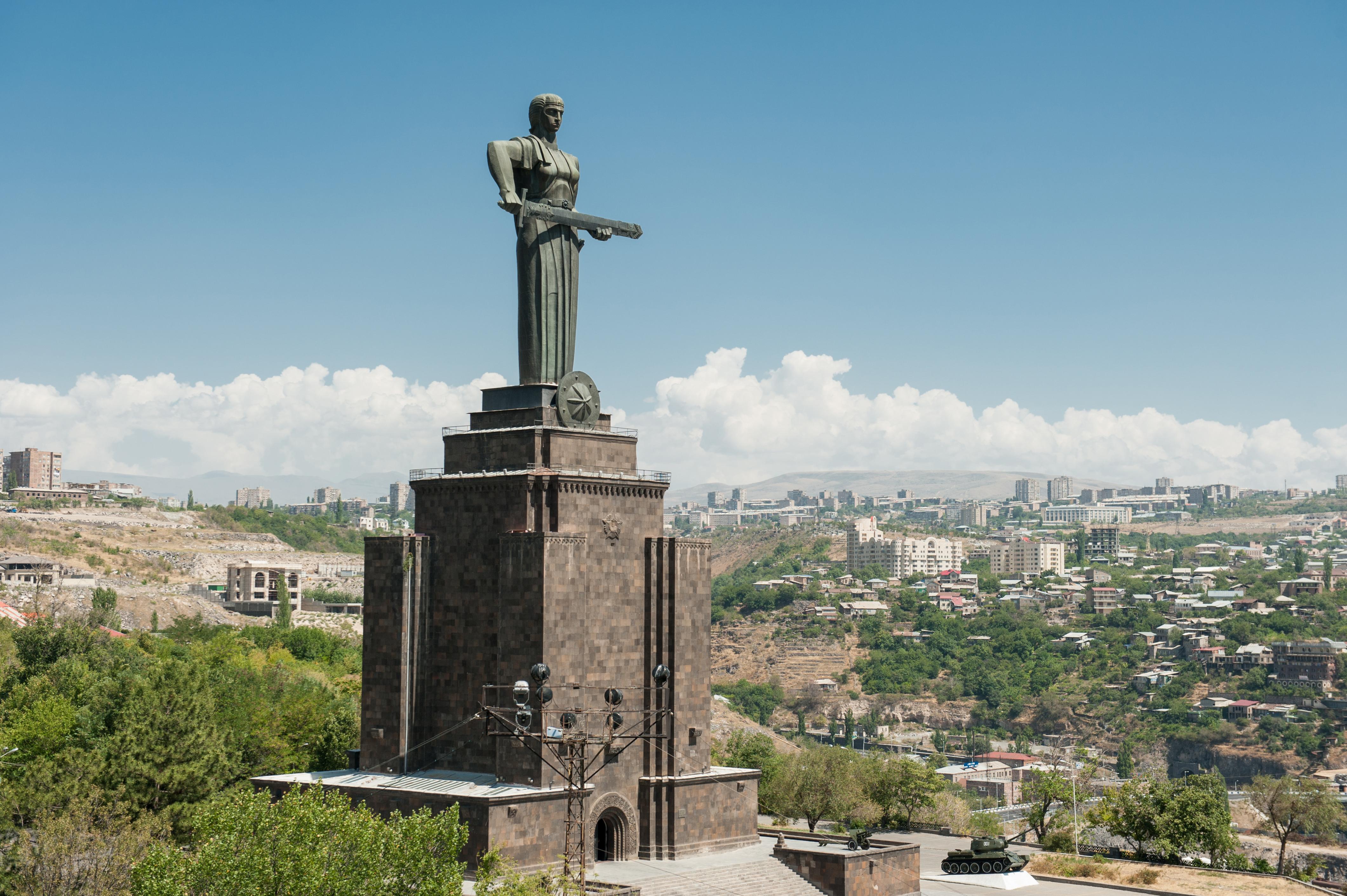 Достопримечательности Еревана - Парк Победы