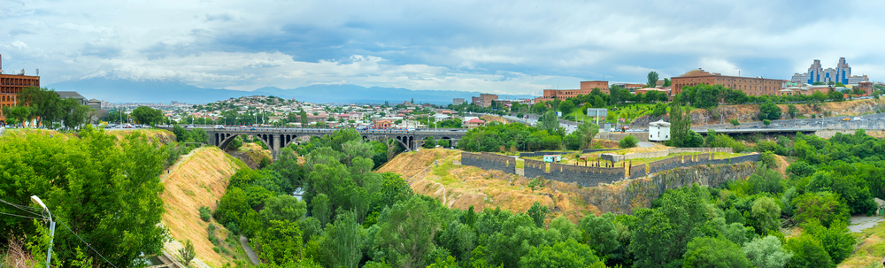 Достопримечательности Еревана - Разданское ущелье