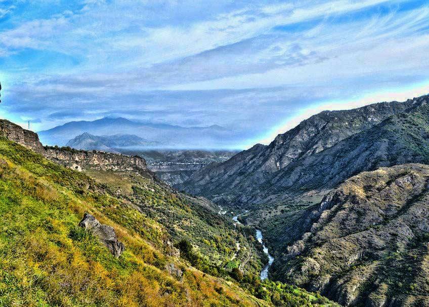 Реки Армении - река Дебет