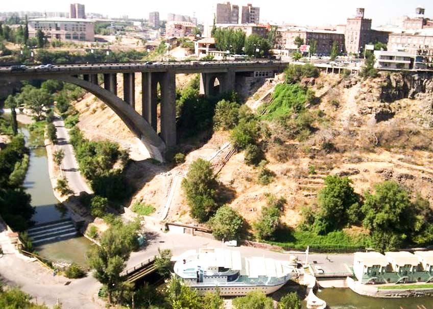 Реки Армении - река Раздан