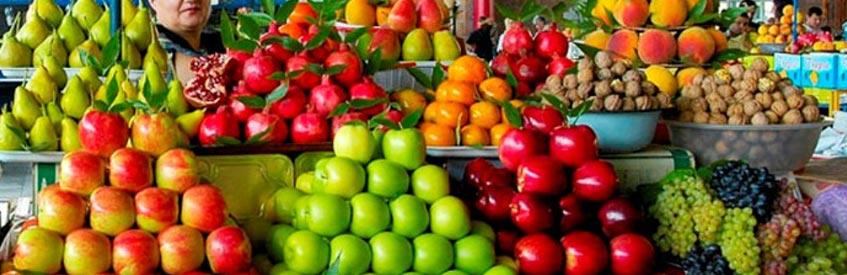 армянские фрукты - яблоки