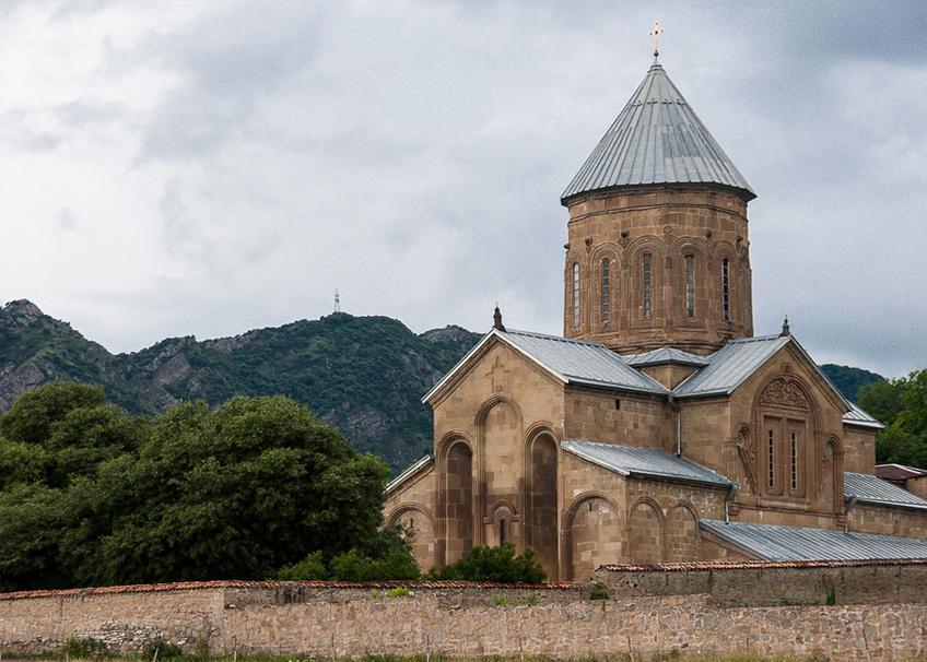 мир туризма - грузия - мцхета - храм Джвари