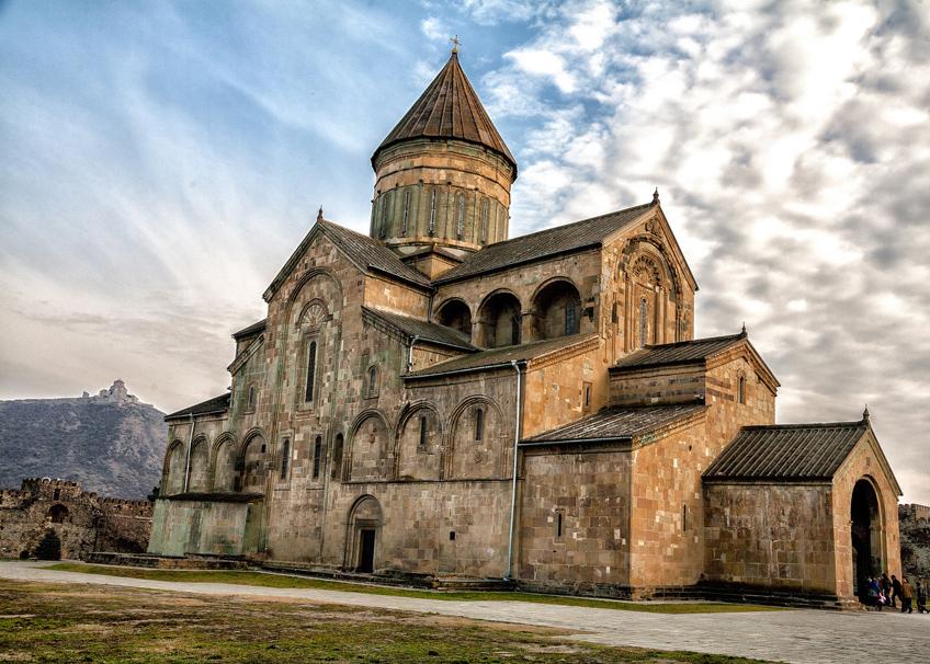 мир туризма - грузия - мцхета