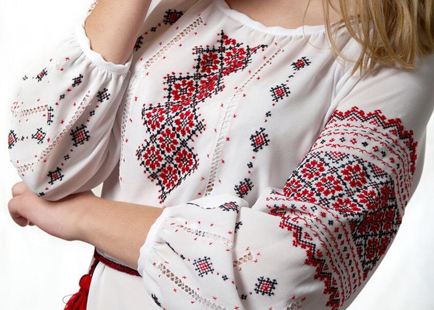 символы украины вышиванка